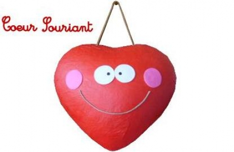 Coeur souriant
